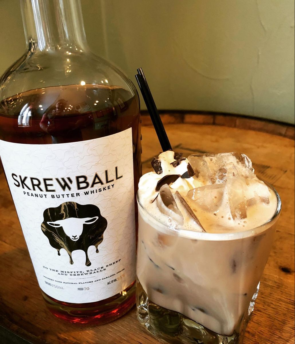 Reese's Cup: Made With Skrewball Peanut Butter Whiskey