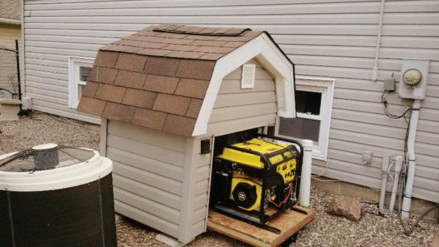 Generator Shed - Dog House?! In 2019