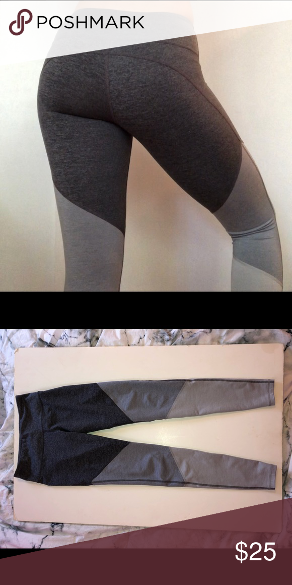 46d37c03f3 gorgeous shades of grey athletic leggings •slight compression •fabric keeps  you dry and comfortable
