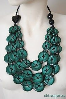 Button Necklace (inspiration)