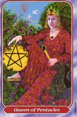 THE QUEEN OF PENTACLES AND THE QUEEN OF DISKS: The Spiral Tarot ...