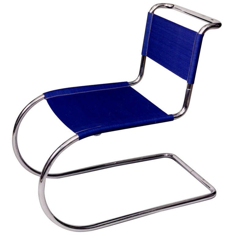 1stdibs | Tubular Steel Cantilever Chair by Ludwig Mies van Der Rohe, ca. 1927