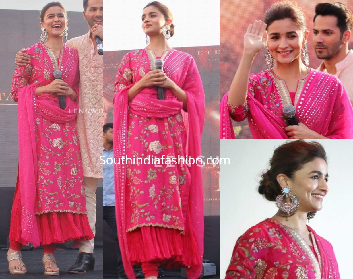 Alia Bhatt S Traditional Look At Kalank Promotions South India Fashion Traditional Indian Outfits Indian Wedding Outfits Indian Designer Outfits Reddit gives you the best of the internet in one place. alia bhatt s traditional look at kalank