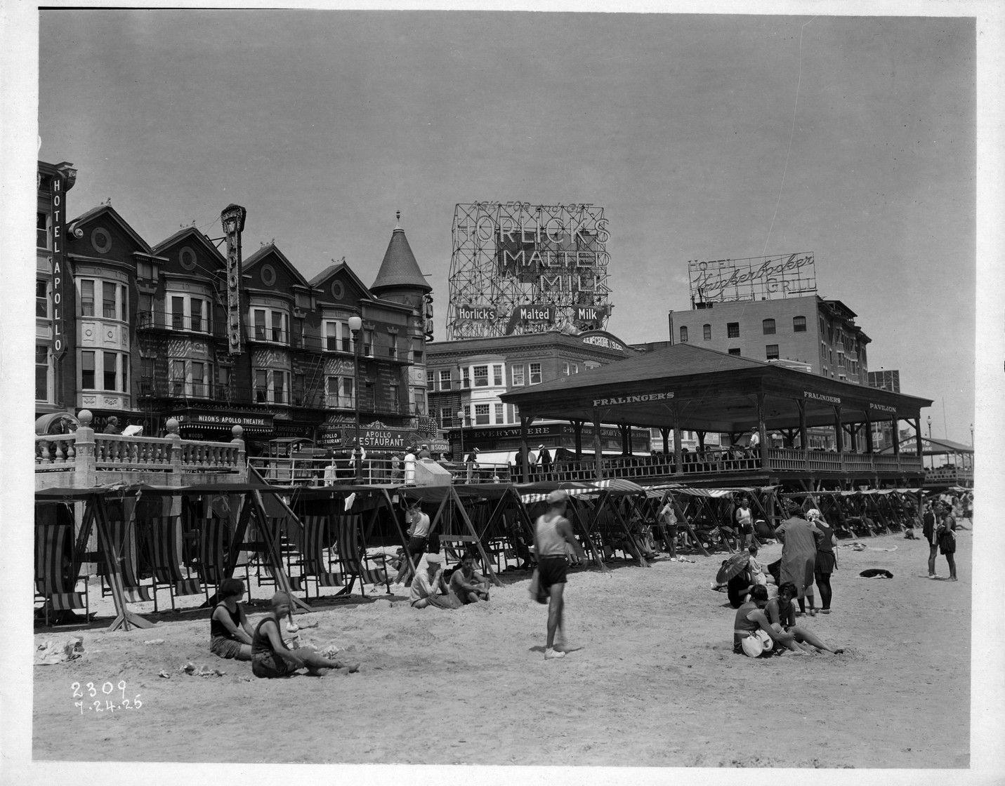 Atlantic City Boardwalk   Atlantic City Early Th Century