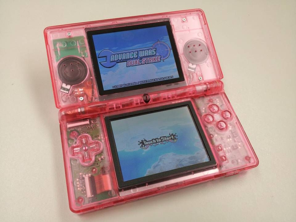 modding a ds lite nintendo ds giant bomb girly gadget
