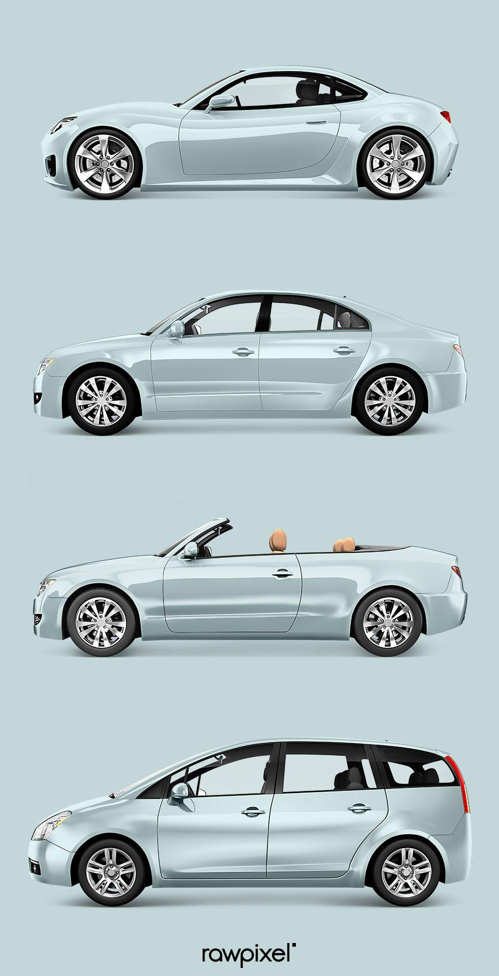 Download Free And Premium Royalty Free Car Vector Mockups