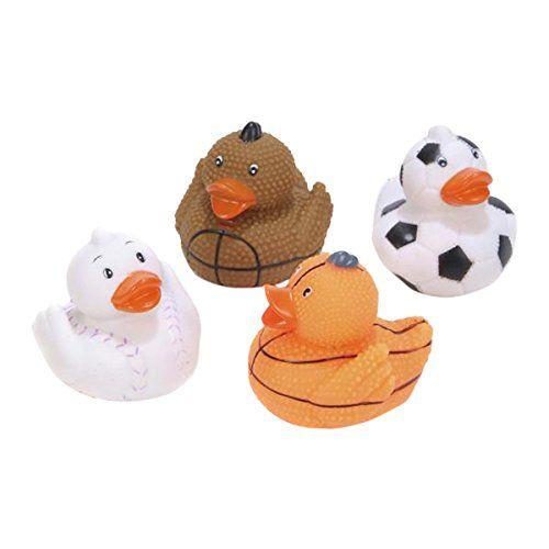 12 Piece Activity & Entertainment Rhode Island Novelty 2 Barnyard/Farm Animal Rubber Ducks