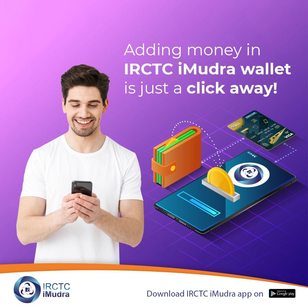 Irctc Imudra Adding Money Ads Wallet