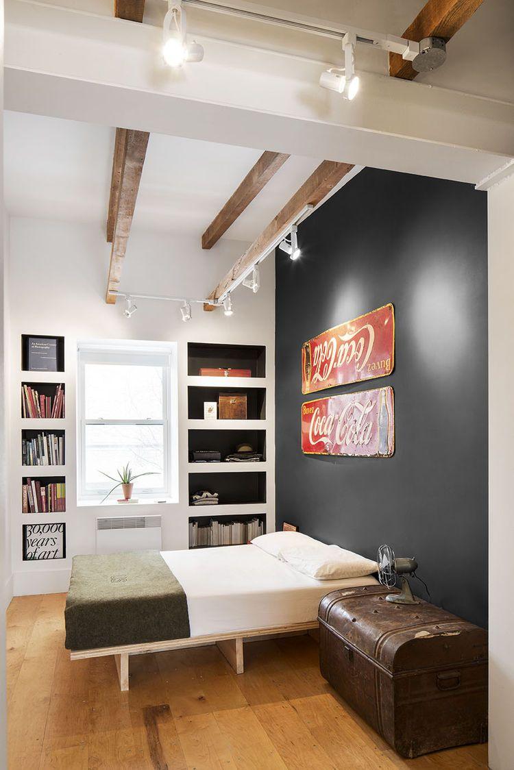 Schmale Schlafzimmer Einrichten Federholzleisten Für Lattenroste