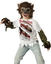 werewolf teen wolf howling moon twilight new moon boys halloween costume s xl - Wolf Halloween Costume Kids