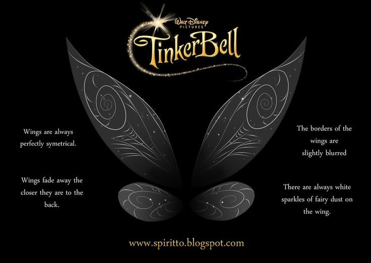 Tinkerbell wings, movie stock by *spiritto on deviantART ...