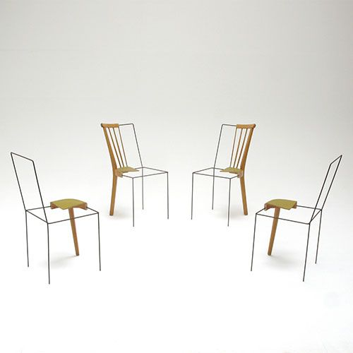 """So begins Julian Sterz's """"Diploma Thesis on the Topic Place-Keeper,"""" an investigation into identity and archetypes. Taking arguably the most recognisable expression of design, a chair, he experiments with what makes it a chair – how much form and functionality can you take away before it ceases to be a chair?"""
