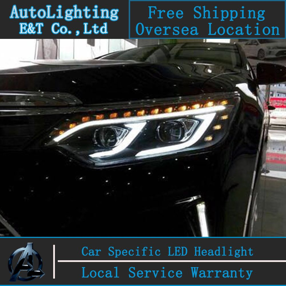 Toyota Camry: Turning on the high beam headlights