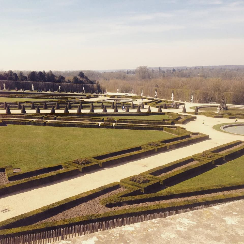 The gardens at The Palace of Versailles, France