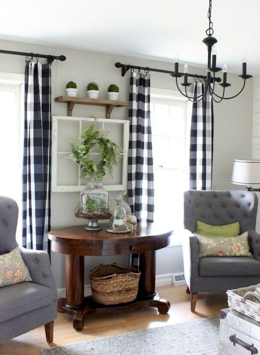 49 Beautiful Modern Farmhouse Living Room Decor
