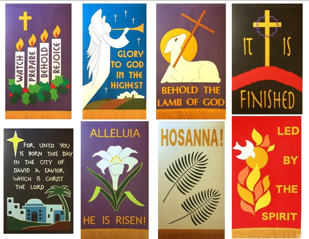 Church Banner Patterns And Designs