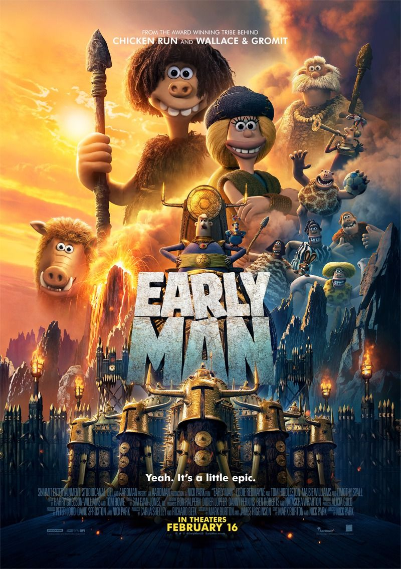 'Early Man' (Solo Cinema Trip 07/02/2018) 8 out of 10