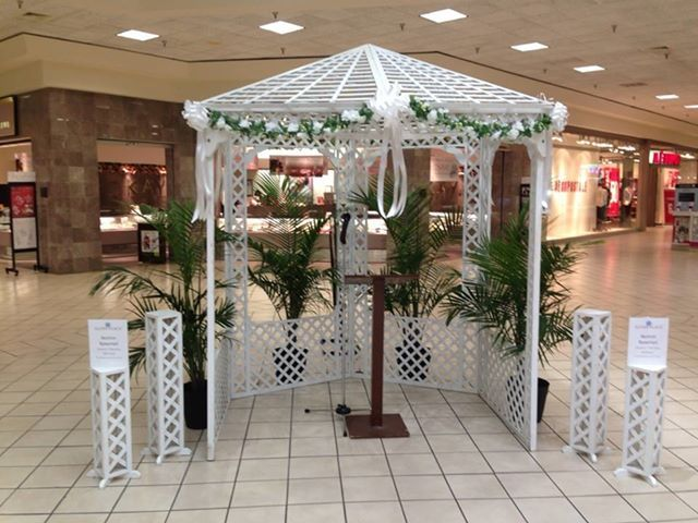 Glynn Place Mall Wedding Brunswick Ga Wedding Rentals Outdoor Structures Outdoor