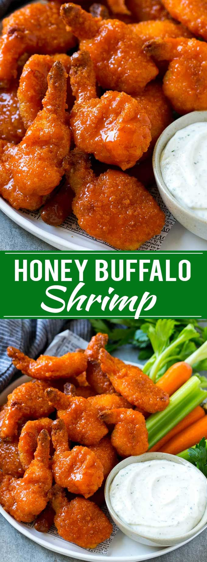 Buffalo Shrimp - Dinner at the Zoo