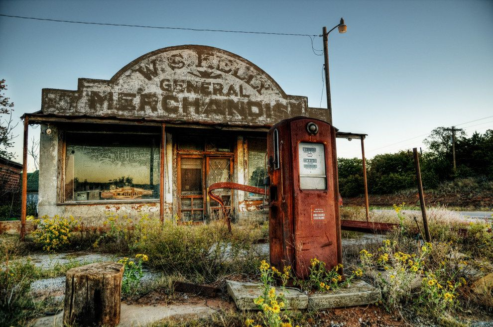 10 Creepy Abandoned Service Stations Across The Country