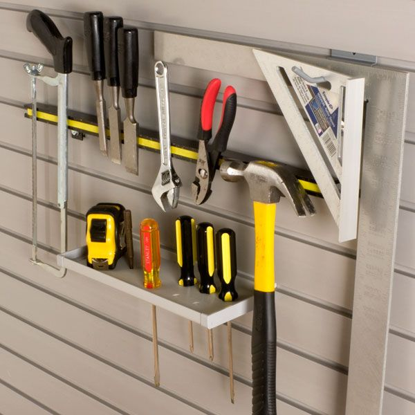Organize the Garage into Zones -. Tool StorageStorage IdeasWall ... & Organize the Garage into Zones - | Tool storage Storage ideas and ...