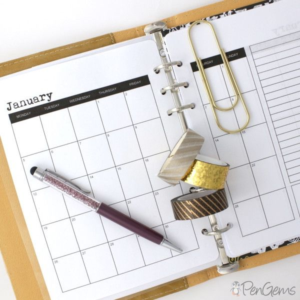 Free Planner Printables - Simple Theme - A5