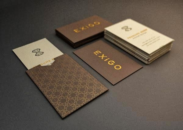high quality business card design