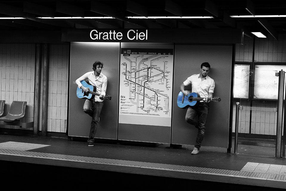 super projet photo dans le métro lyonnais !  Gone Underground