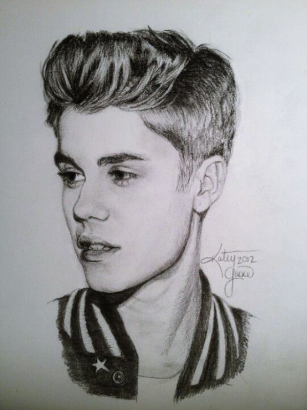 40 pencil drawings of celebrities at God's height