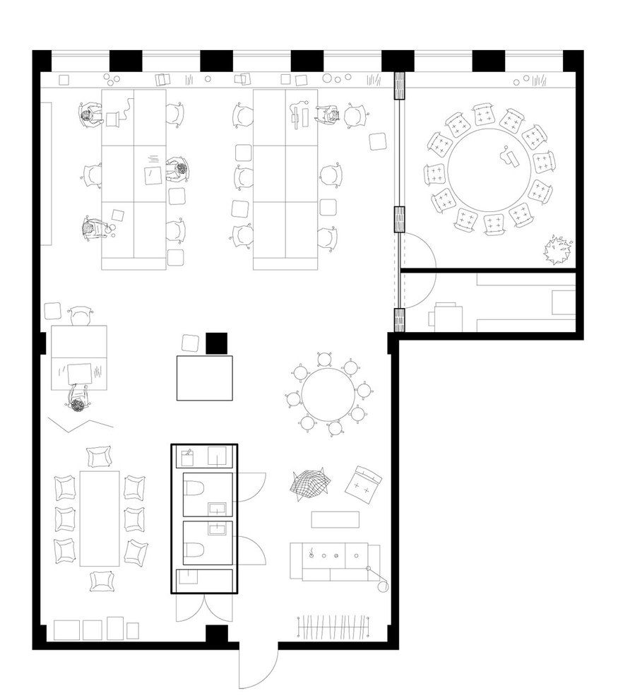 Space Planning Office Floor Plan Floor Plans How To Plan