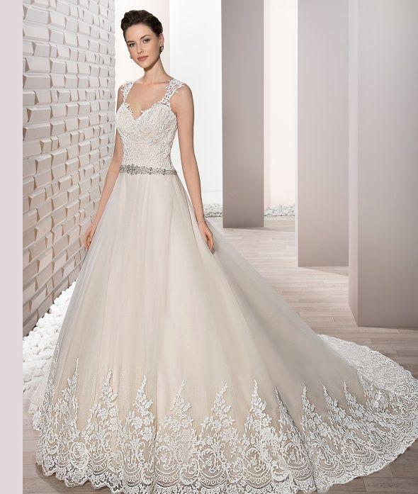 Jeweled wedding dress trim