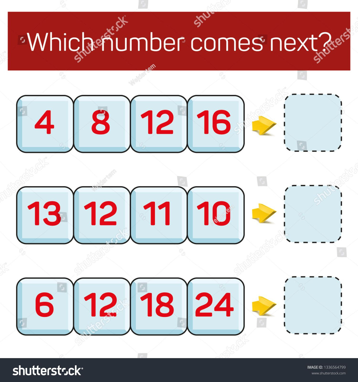 What Number Comes Next Educational Children S Game Kids