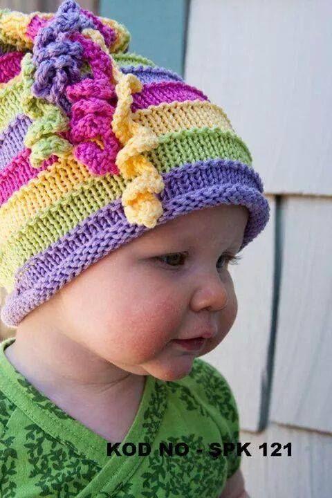 İşlemeli Bebek Yelek Yapılışı #bonnets