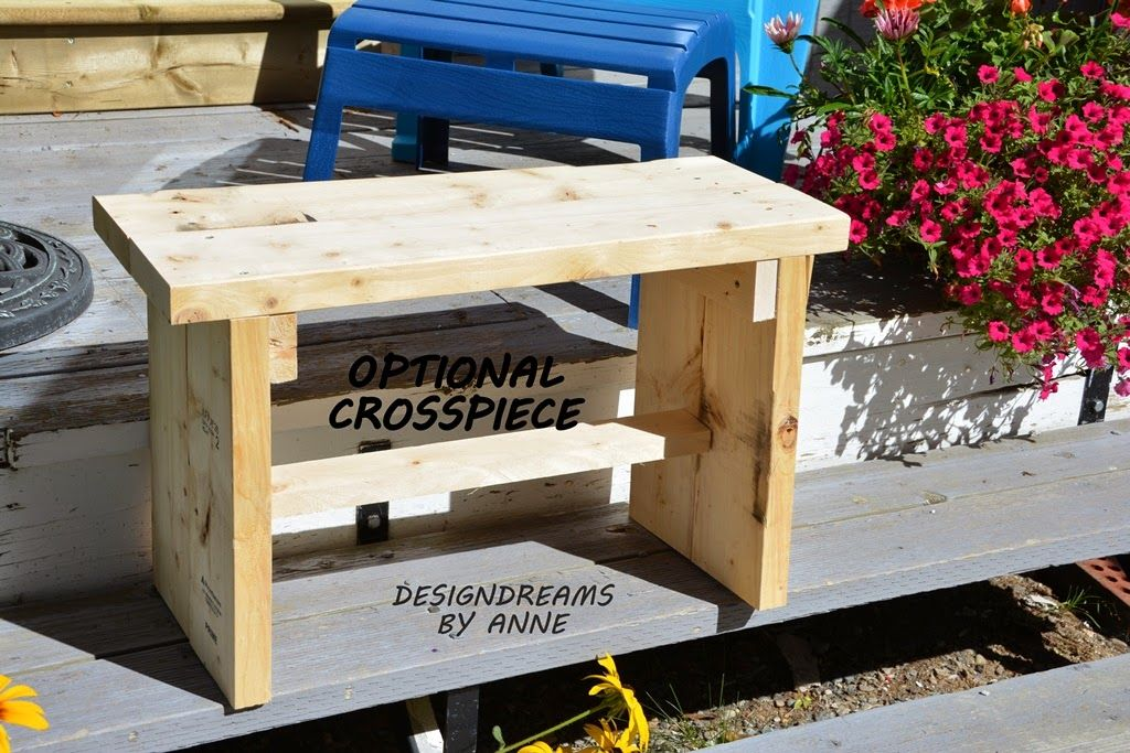 The 8 Rustic Bench Project suspect it will cost more than 8 but
