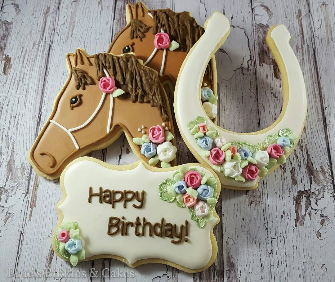 Giddy up Happy Friday, friends 😙 This horse and floral themed ...