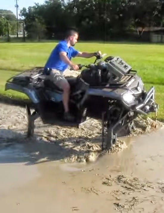 Biggest Atv In The World Goes Through Our Pit World Atv Goes