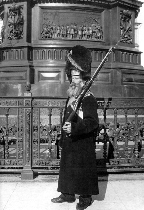 A Russian Imperial Grenadier Palace Guard, 1913