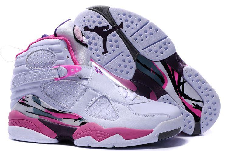 Equivalente Insistir Melódico  5-Modelo-Retro-para-mujer-en-blanco-con-rosa.jpg (750×498) | Nike jordans  women, Nike shoes jordans, Womens jordans