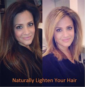 How To Naturally Lighten Your Hair Best Ways To Naturally