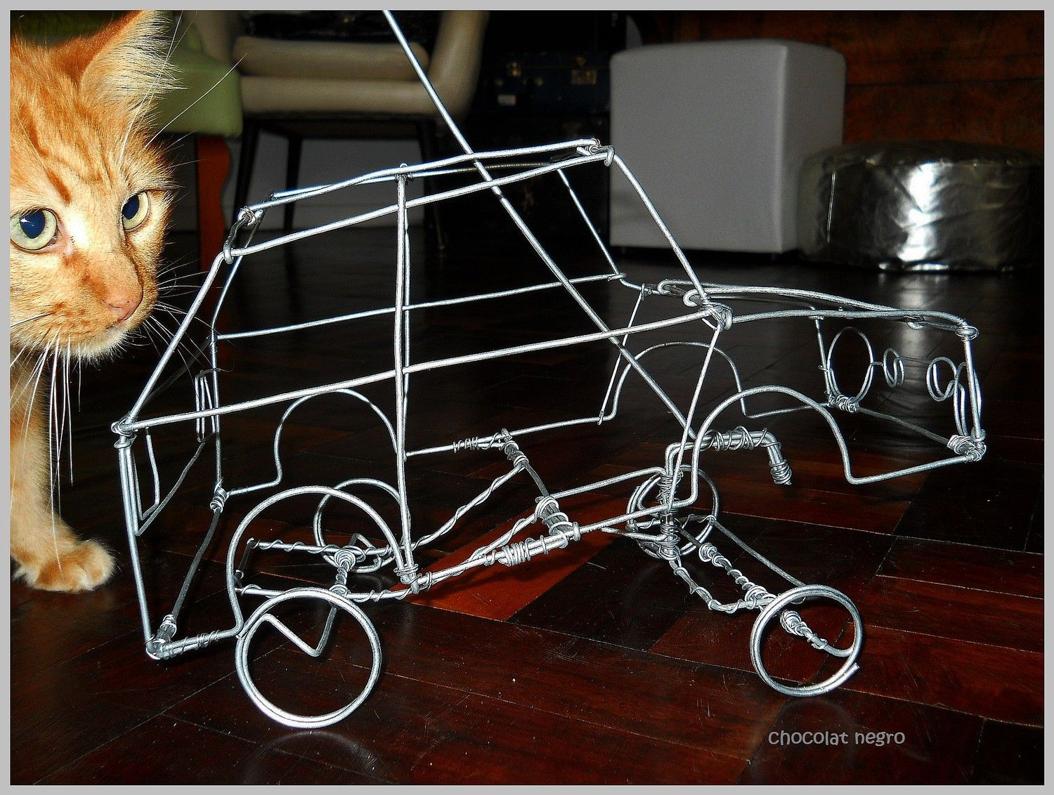 Awesome Wire Car South African Street Toy African Toys