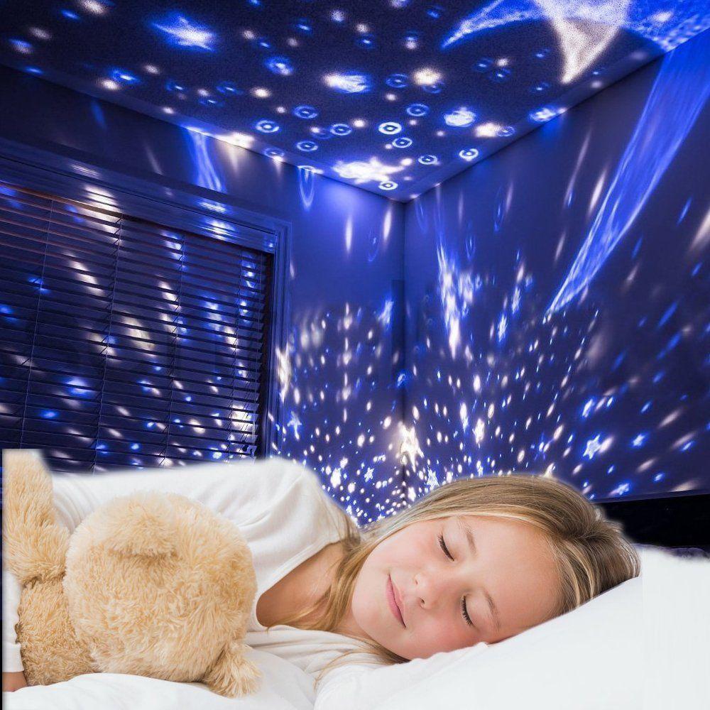 Starry Night Light For Kids Fantasy Stars Rotating Romantic Star