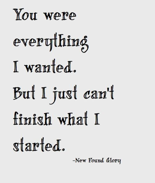 New Found Glory My Friends Over You With Images Lyrics To