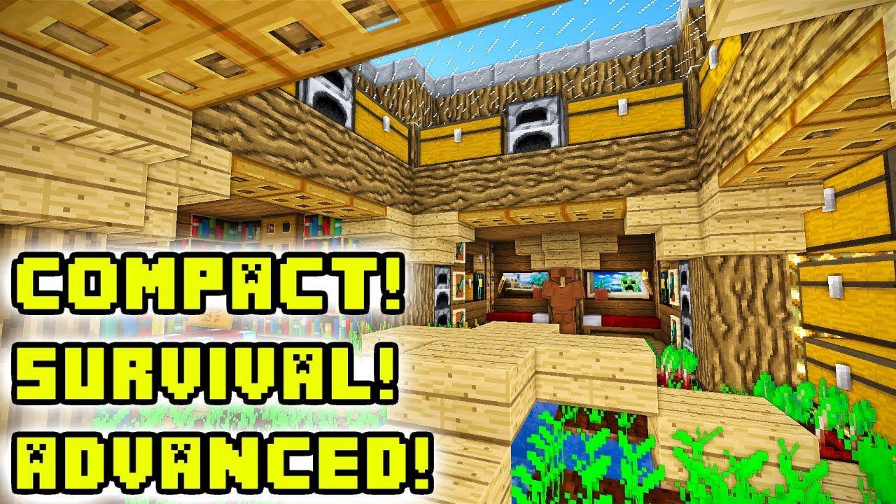 Minecraft Tutorial: Advanced Underground House Build   Easy