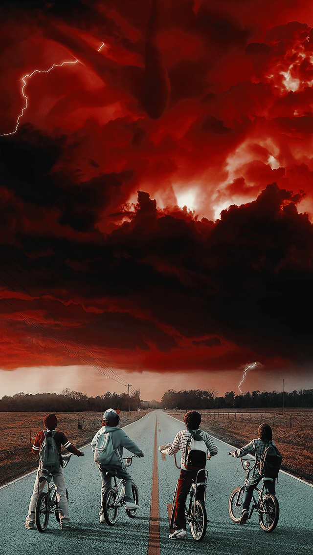 Stranger things lockscreen tumblr fruts pinterest for Fondo de pantalla stranger things