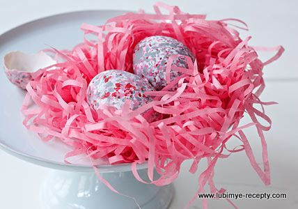 Окраска яиц на пасху - Рецепт с фото (с изображениями ...