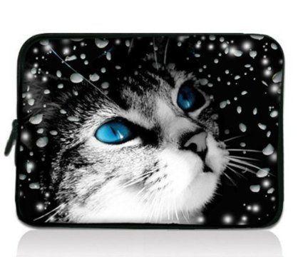 "Cute Cat 11.6"" 12"" 12.1"" Laptop Tablet PC Sleeve Case Bag"