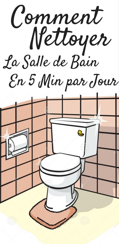 Salle De Bain Sous Les Combles ~ Comment Nettoyer Sa Salle De Bain En 5 Min Par Jour Le Cinq Les