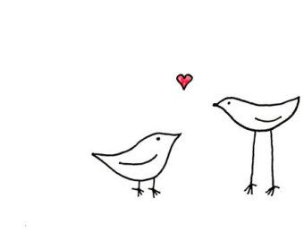 Related Image Love Birds Drawing Bird Drawings Bird Art Print