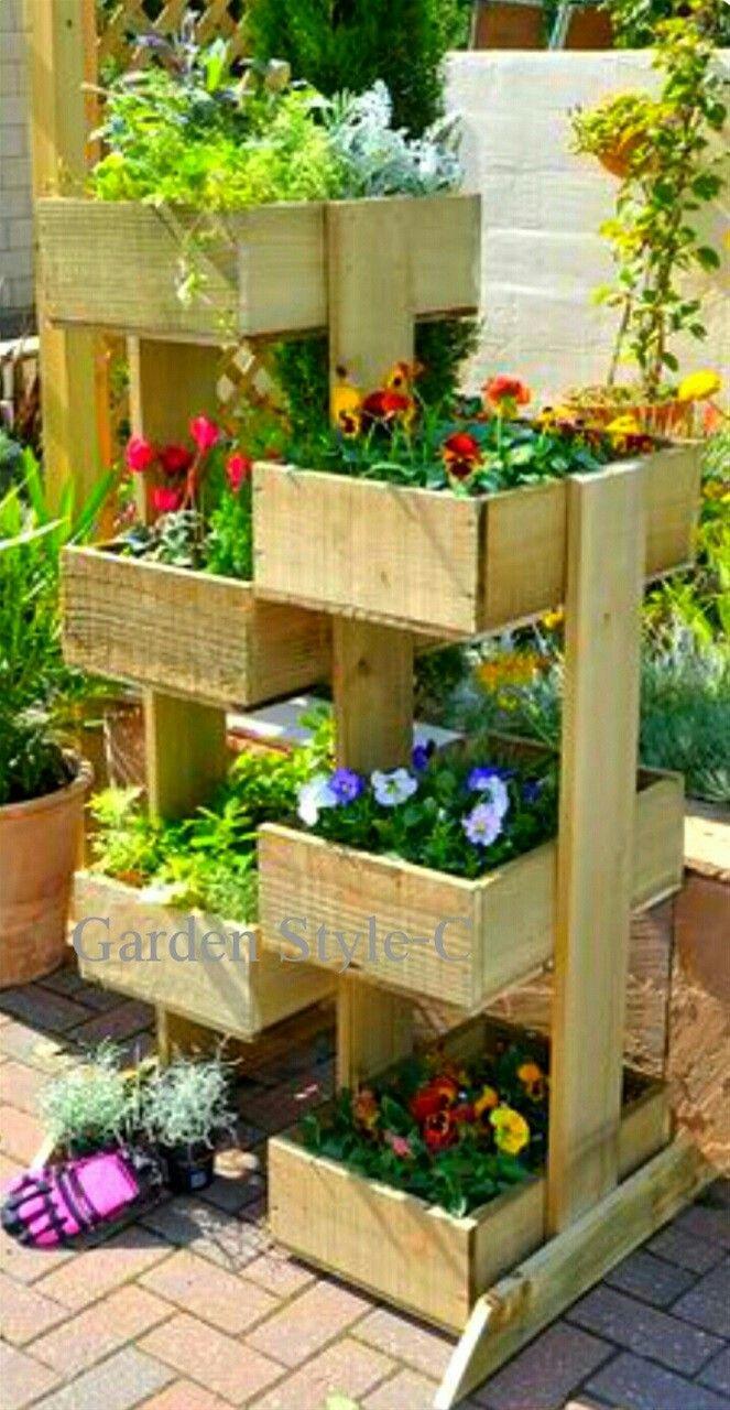 Pin by Lisa Stegall on Planters | Pinterest | Gardens, Garden ideas ...