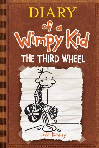 The Third Wheel (Diary of a Wimpy Kid, Book 7) by Jeff Kinney, http://www.amazon.com/dp/1419705849/ref=cm_sw_r_pi_dp_hZmPqb08WHPC7